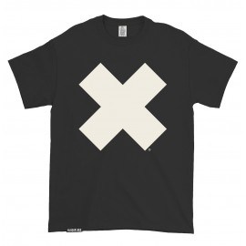 T-shirt Big X Black