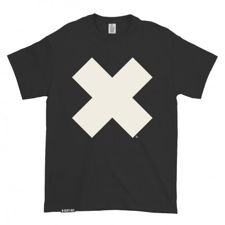 T-shirt Big X Black