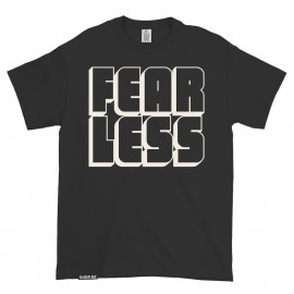 T-shirt FEAR LESS Black