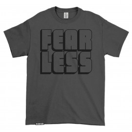 T-shirt FEAR LESS Charcoal