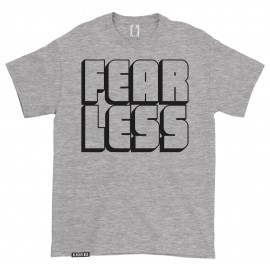 T-shirt FEAR LESS Heather Grey