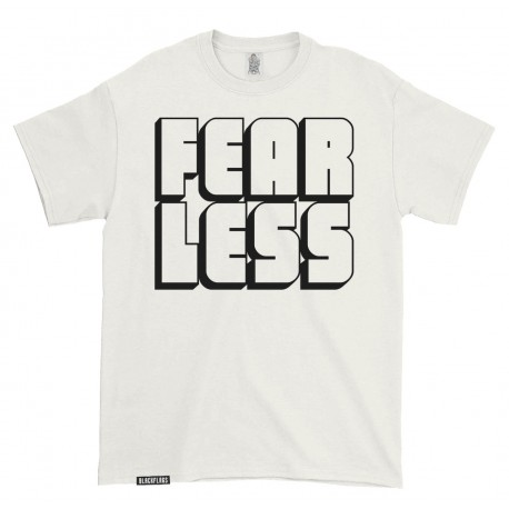 T-shirt FEAR LESS Off White