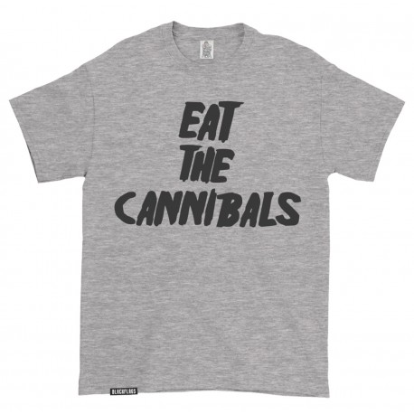 T-shirt Eat the Cannibals Heather Grey