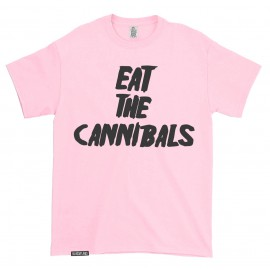 T-shirt Eat the Cannibals Pink