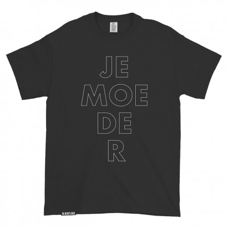 "T-shirt ""je-moe-de-r"" Black"