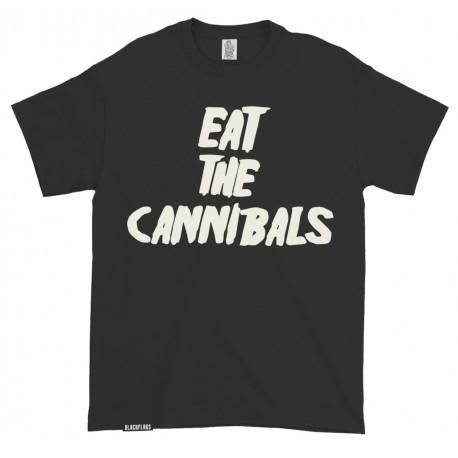 T-shirt Eat the Cannibals Black