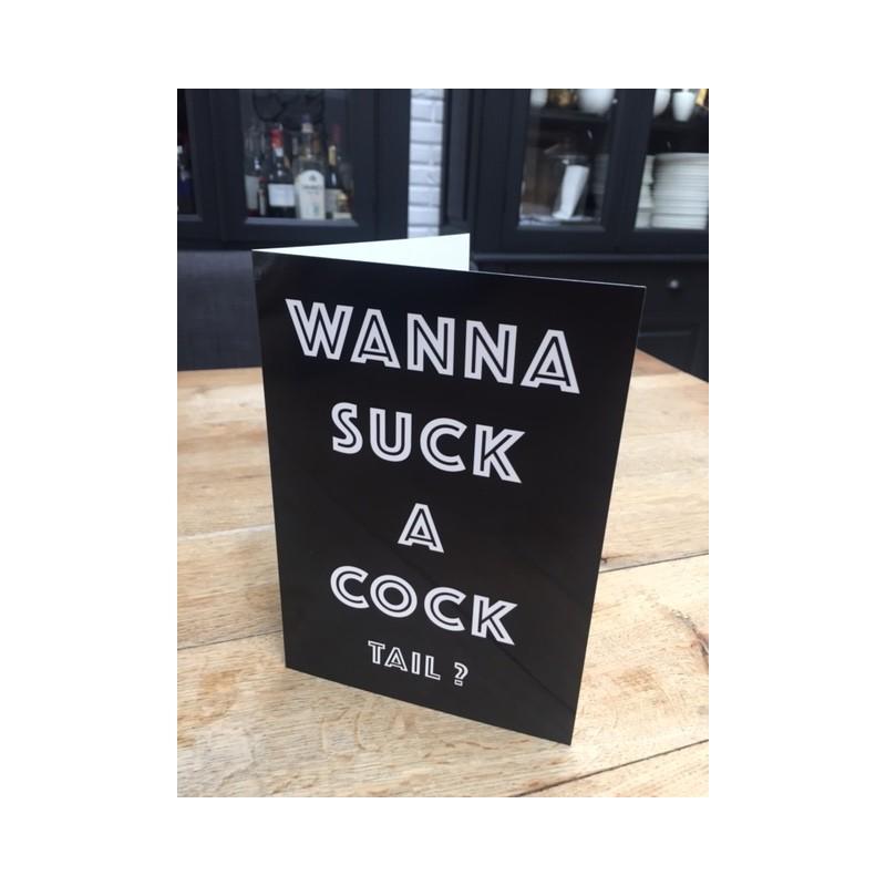 cocktail card xl black flags