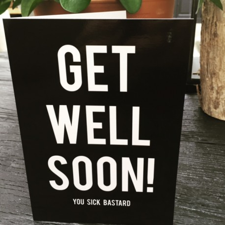 """Get well"" card xl"