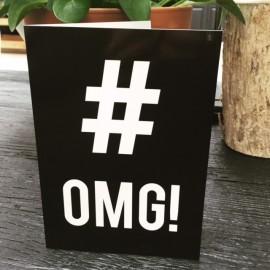 """""""OMG"""" card xl"""
