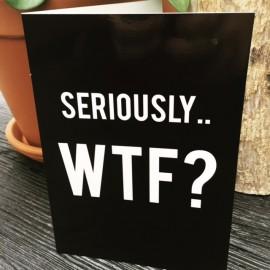 """""""WTF"""" card xl"""