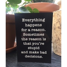 "Card ""Everything"" XL"